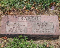 Maude <i>Coffman</i> Barto
