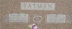 Averne <i>Weaver</i> Tatman