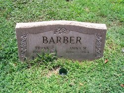 Anna M <i>Heater</i> Barber