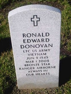LTC Ronald Edward Donovan