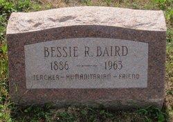 Bessie R Baird