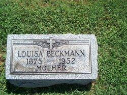 Louise Lulie <i>Hettinger</i> Beckmann