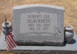 Robert Lee Blackmon