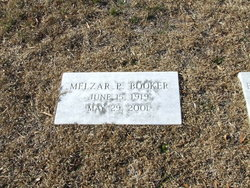 Melzar Pegram Mel Booker, Sr