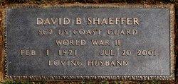 David B. Shaeffer