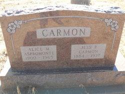Alice Martha Ann <i>Holloway</i> Carmon