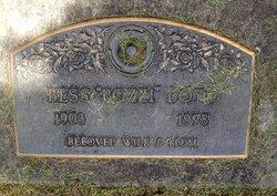Bessie <i>Dahlgren</i> Boyd Pozzi