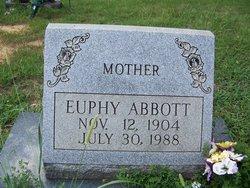 Mary Euphy Abbott