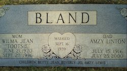 Wilma Jean Tootsie <i>Chriss</i> Bland