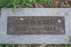 Adie D. K. Bell