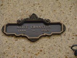 Alice Cranston