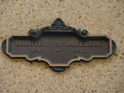 Dorothy Eleanor <i>Parks</i> Dahlberg