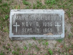 Mary Isabel <i>Wrigley</i> Brown