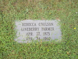 Rebecca <i>Lineberry</i> Farmer Coulson