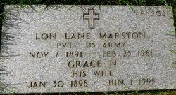 Grace Nancy <i>Myers</i> Marston