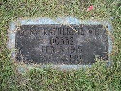 Mary Katherine <i>Witt</i> Dobbs