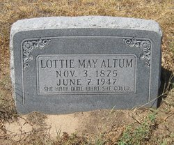 Lottie May Altum