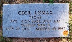 Cecil Lomax