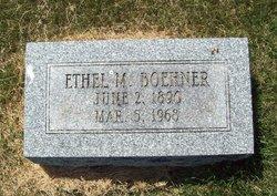 Ethel May <i>Hocker</i> Boehner