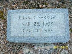 Edna <i>DeLoach</i> Barrow