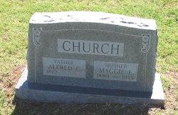 Maggie E. <i>Johnson</i> Church