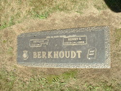 Henry G Berkhoudt