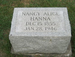 Nancy Alice <i>Spaw</i> Hanna