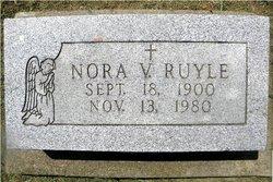 Nora V. <i>Row</i> Allen Ruyle