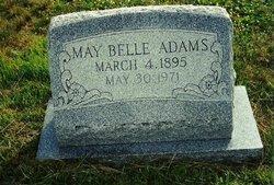 May Belle <i>Burrell</i> Adams