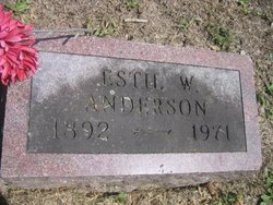 Estil W Anderson