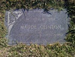 Maude <i>Malone</i> Clinton