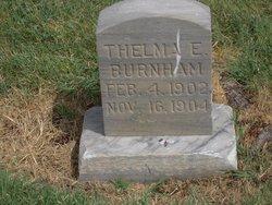 Thelma Eliza Burnham