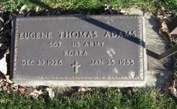 Eugene Thomas Adams