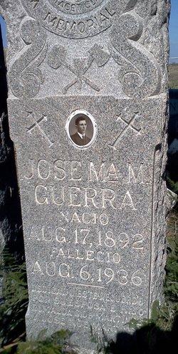 Jose Ma M. Guerra
