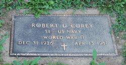 Robert D Corey