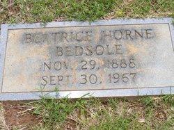 Beatrice <i>Horne</i> Bedsole