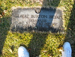 PFC Gilbert Burton Bryan