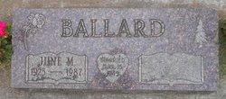 June M. Ballard