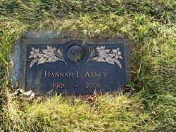 Hannah L. <i>Rogers</i> Arney