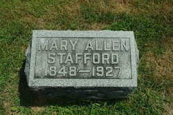 Mary Jane <i>Allen</i> Stafford