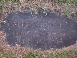 Callie <i>Jammerson</i> Martin
