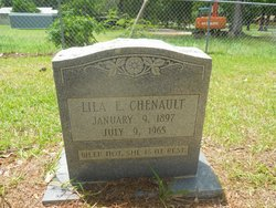 Lila E <i>Harper</i> Chenault