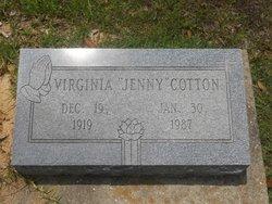 Virginia <i>Chenault</i> Cotton
