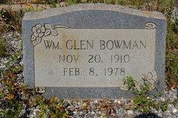 William Glen Bowman