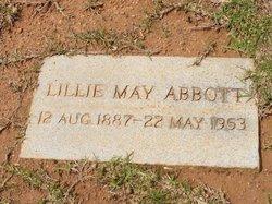 Lillie May <i>Gossett</i> Abbott