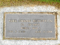 Ruel Duane Boydston