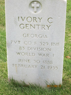 Ivory Cliff Gentry