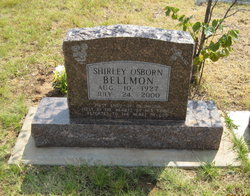 Shirley Lee <i>Osborn</i> Bellmon