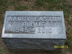 Nancy <i>Easton</i> Blume