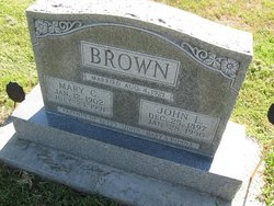 Mrs Mary Catherine <i>Connard</i> Brown